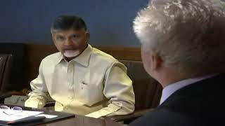 Honorable Chief Minister of Andhra Pradesh USA Visit Day 02