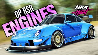 Need for Speed HEAT - This Porsche Has OVERPOWERED RSR ENGINES! (911 Carrera S Customization)