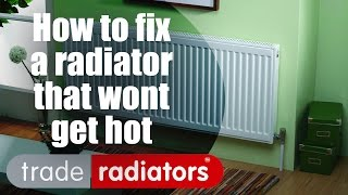 How to fix a radiator that won