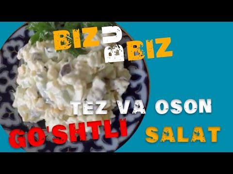 Go'shtli salat