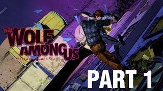 The Wolf Among Us Gameplay Walkthrough - Part 1 - Episode 1: Faith (Wolf Among Us Gameplay HD)