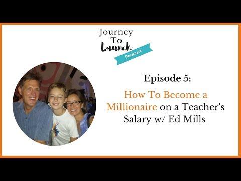 How To Become A Millionaire on a Teacher's Salary