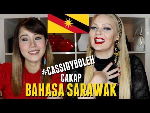 Minah Salleh Cakap BAHASA SARAWAK - CASSIDY LA CREME feat. Dewi Seriestha | #CassidyBoleh
