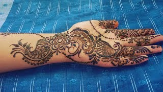 Eid Special Mehndi Design for the Beginners - Easy and Short Henna Design