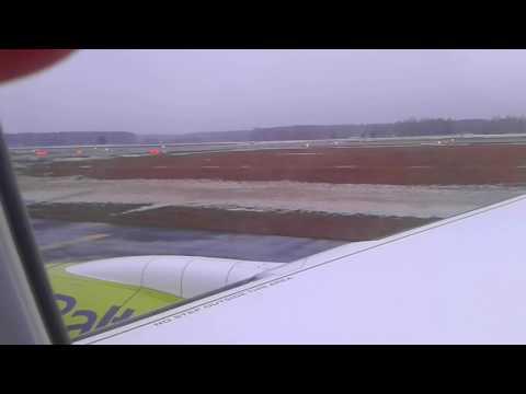 Decollage Riga - Paris (air Baltic)