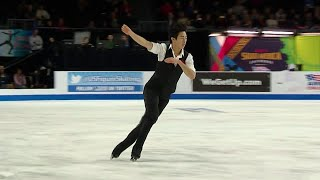 Нэтан Чен. Короткая программа. Мужчины. Skate America. Гран-при по фигурному катанию 2019/20