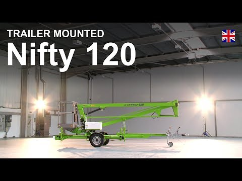 Nifty 120 Product Video | Trailer Mounted Cherry Picker from