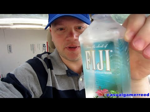 Reed Reviews FIJI Natural Artesian Water