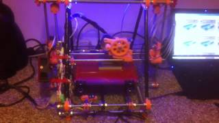 My self build prusa mendel i2 3d printer