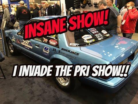 I invade the 2017 PRI show, this was insane!