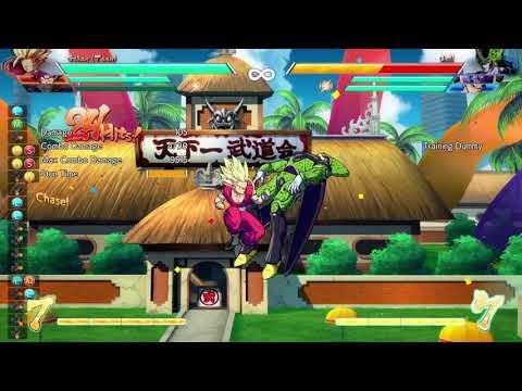 DRAGON BALL FighterZ - Teen Gohan DHC into Base Goku lvl 3
