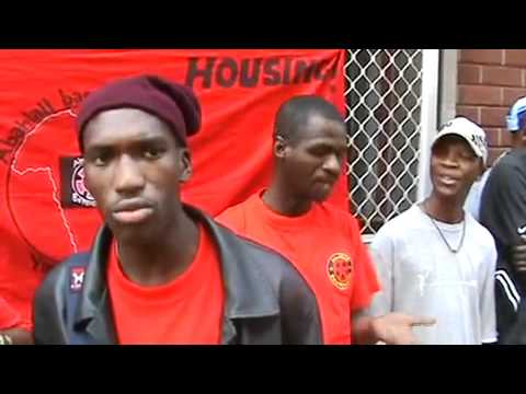 Abahlali baseMjondolo at the High Court in Durban for the Slums Act Case in November 2008