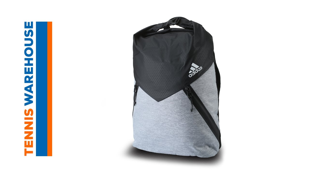adidas Sport ID Clip Backpack Bag - YouTube f16e37808d268