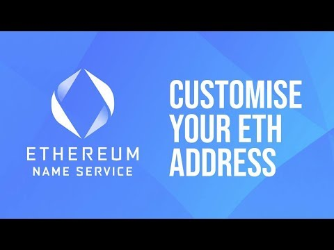 Ethereum Name Service - Next Generation Domains