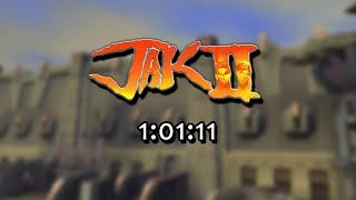 Jak II - Any% Speedrun in 1:01:11