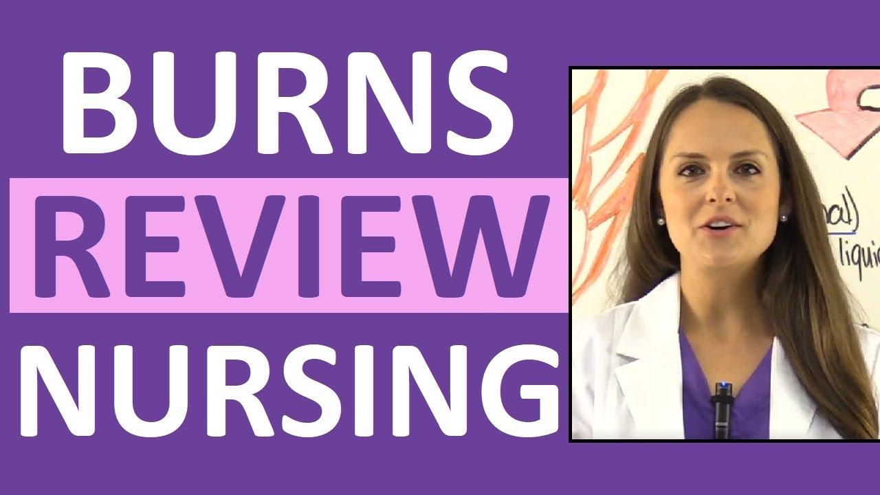 Download Burns Nursing Care, Treatment, Degrees, Pathophysiology,  Management, NCLEX Review