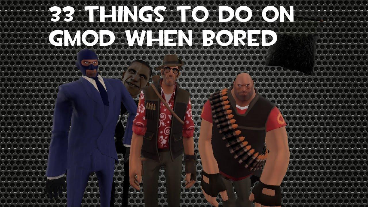 things to do in gmod sandbox