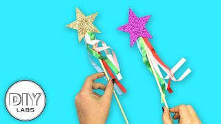 UNICORN STAR WANDS | Crafts for Kids | Fast-n-Easy | DIY Arts & Crafts for Kids