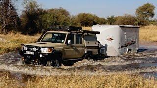 Mobi Lodge on tour in Botswana