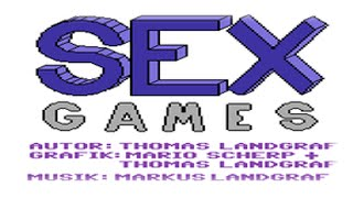 Sex Games (C64/1985) - Gang Bang Gameplay | Full 53cm | WQHD+ | XXX | L