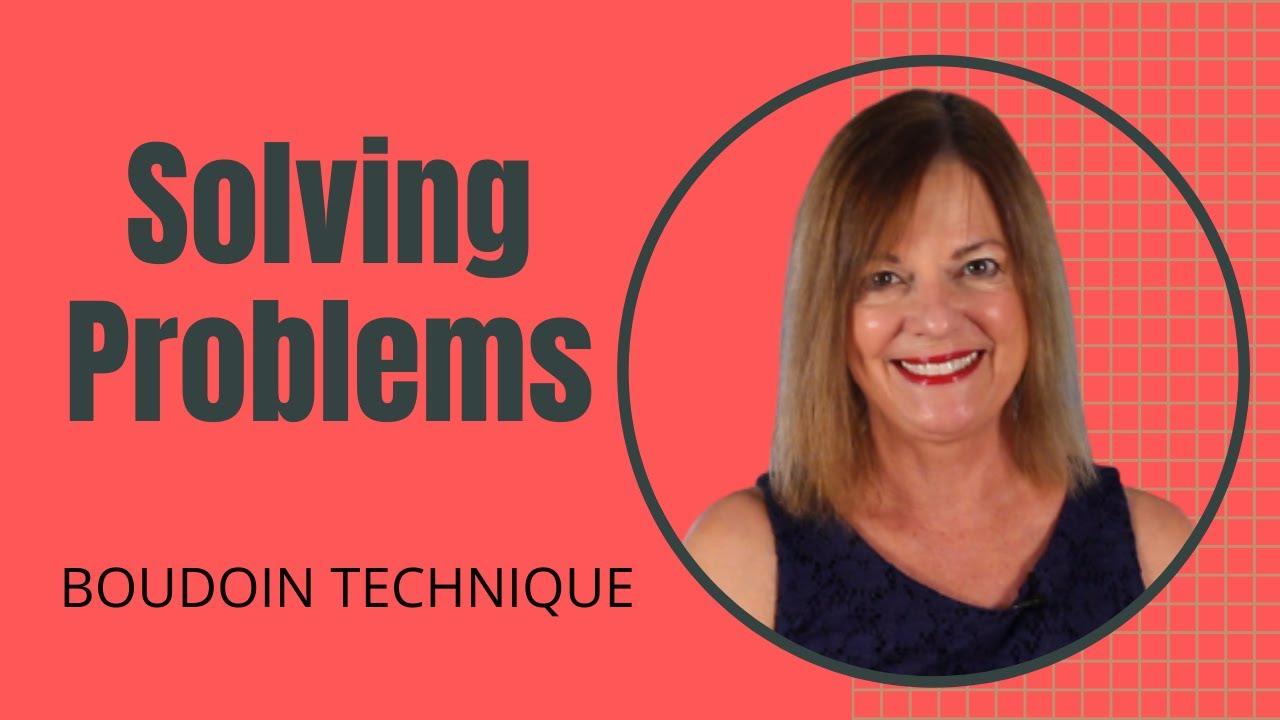 Solving a Problem Steps