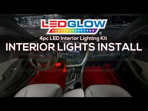 Ledglow How To Install Car Interior Led Lights You