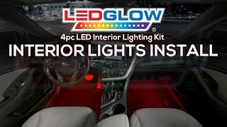 LEDGlow | How To Install Car Interior LED Lights