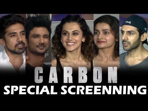 Carbon Movie Special Screening   Jackky Bhagnani,  Prachi, Shushant