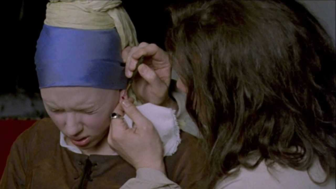 Girl with a pearl earring sex scene can help