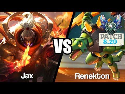 Vidéo d'Alderiate : [FR] JAX VS RENEKTON - UN KDA PARFAIT - 8.20 - DIAMANT 1