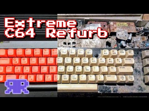 Extreme C64 Refurb - The Little Commodore That Could - Refurbish This! Commodore 64
