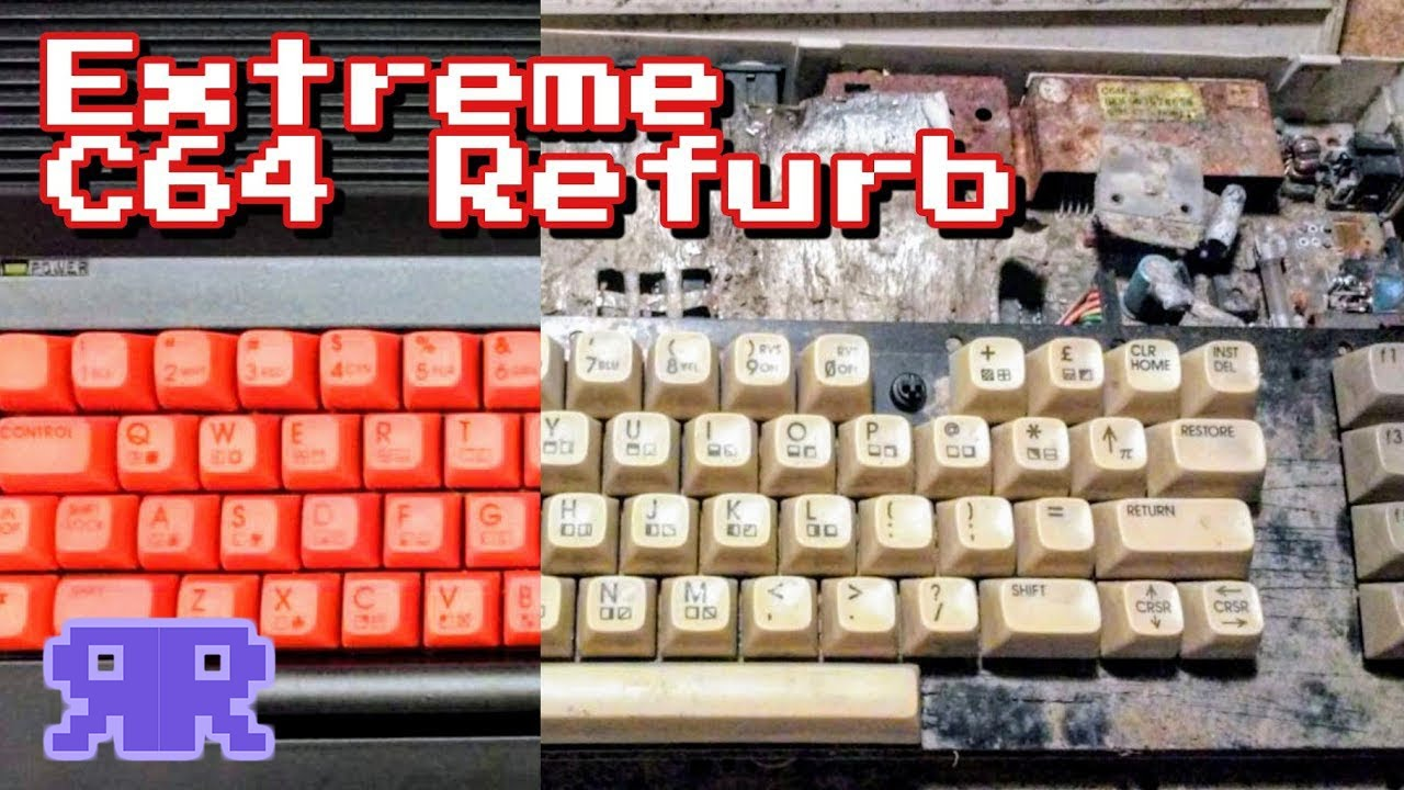 Extreme Refurb: Commodore 64 | Refurbish This! - see description