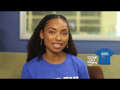Logan Browning Supports STOMP Out Bullying's World Day of Bullying Prevention™ 2018 BlueUp