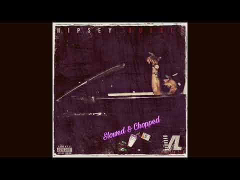 Nipsey Hussle-Right Hand 2 God Slowed & Chopped