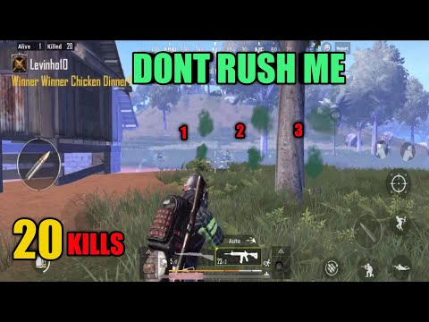 Dont Rush My House | Sanhok Solo Vs Squad | PUBG Mobile