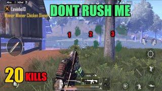 Dont Rush My House | Sanhok Solo Vs Squad | PUBG Mobile