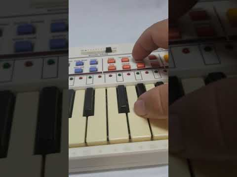 Casio PT-80 Demonstration With ROM-353 For EBay