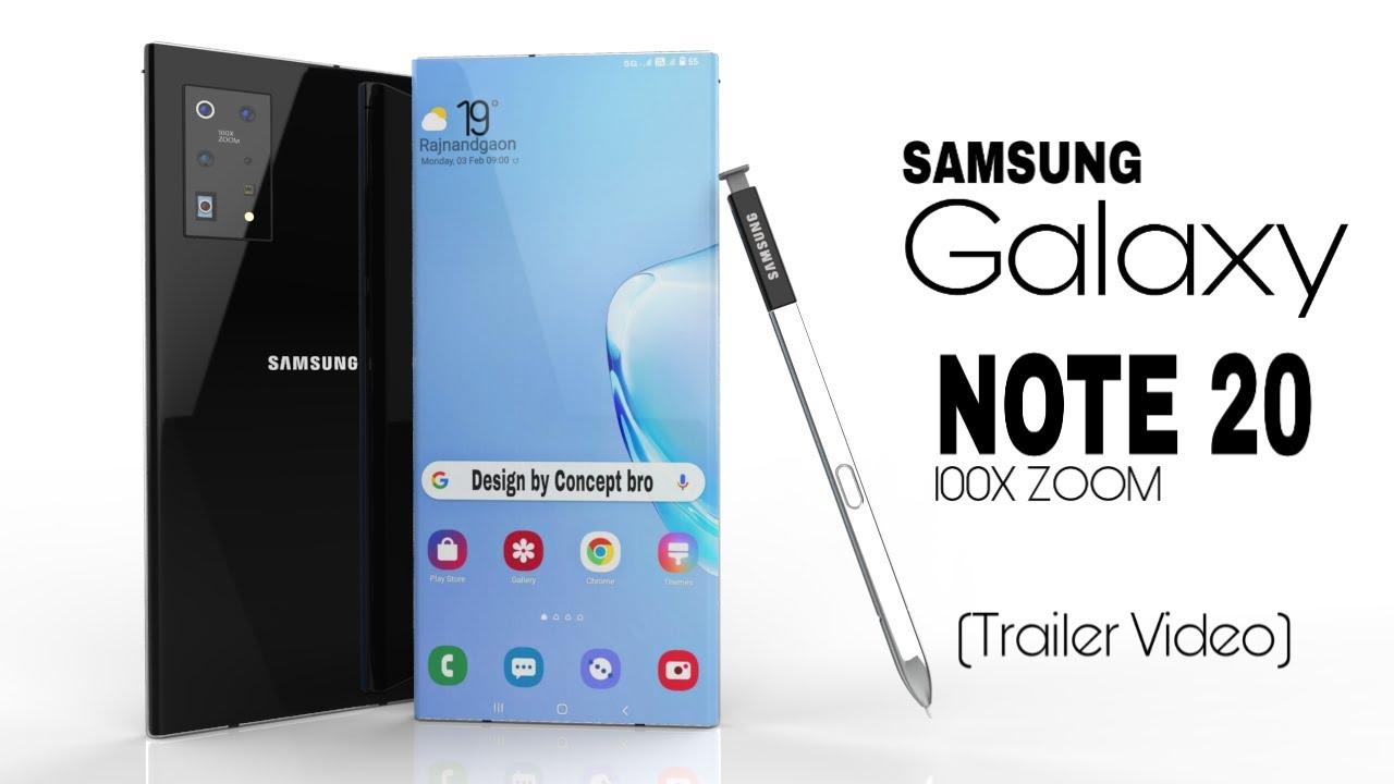 Samsung Galaxy Note 20 sẽ có cụm camera khá khủng với thiết kế lạ mắt