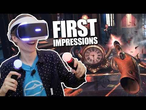 PLAYSTATION VR FIRST IMPRESSIONS! | The London Heist (PS VR Gameplay)