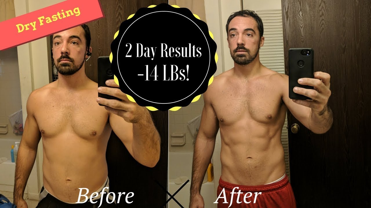 58 Hour Dry Fast Results - NO FOOD NO WATER!!! #DryFast #DryFasting  #Motivational