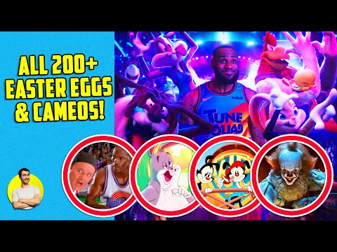Space Jam: New Legacy - All 200+ Easter Eggs, Cameos, References & Things Missed!