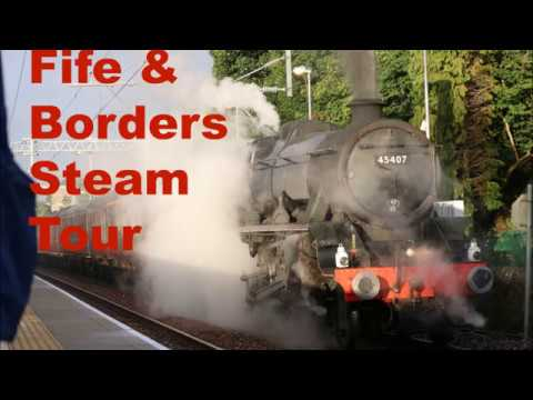 Fife/Borders SRPS Steam Tour Official Film (Part 1) Sunday 06th August 2017