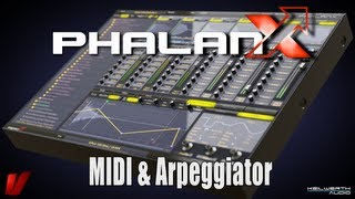 Vengeance Producer Suite - Phalanx Tutorial Video: 08 MIDI Arpeggiator