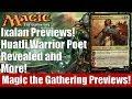 MTG Ixalan Previews! Huatli, Warrior Poet Revealed and More!