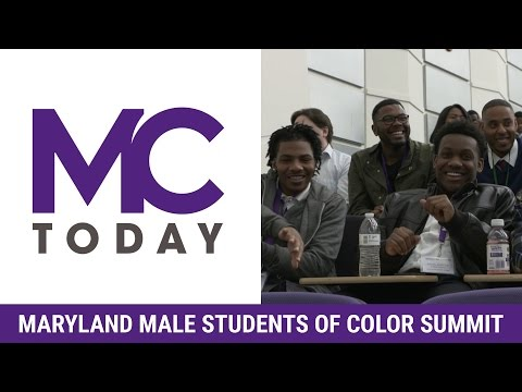 Maryland Male Students of Color Summit 2017