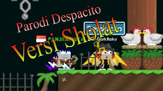 growtopia parodi despacito edisi sholat official video music