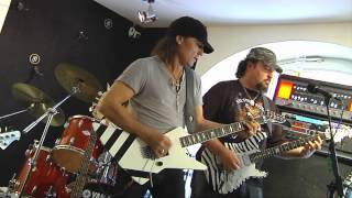 Matthias Jabs feat. Leerose and Herman Rarebell - Another piece of meat