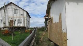 Покраска ОСБ или строим летний каркасный домик своими руками! Чем покрасить  osb(, 2016-09-10T20:02:39.000Z)