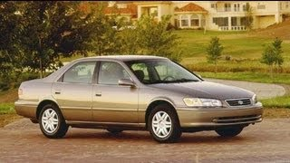 2000 Toyota Camry LE Start Up and Review 2.2 L 4-Cylinder