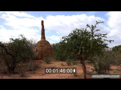 Ethiopia - Road  Karat   Omo valley